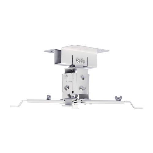 Кронштейн для проектора Cactus CS-VM-PREC01-WT белый макс.23кг настенный и потолочный поворот и накл кронштейн настенный onkron m5 32 60 накл 2° 10° поворот 140° до 36 4кг белый