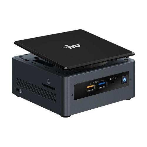 Неттоп IRU I11GL, Intel Celeron J4005, DDR4 4Гб, 120Гб(SSD), Intel UHD Graphics 600, CR, Free DOS, черный [1361524]  - купить со скидкой