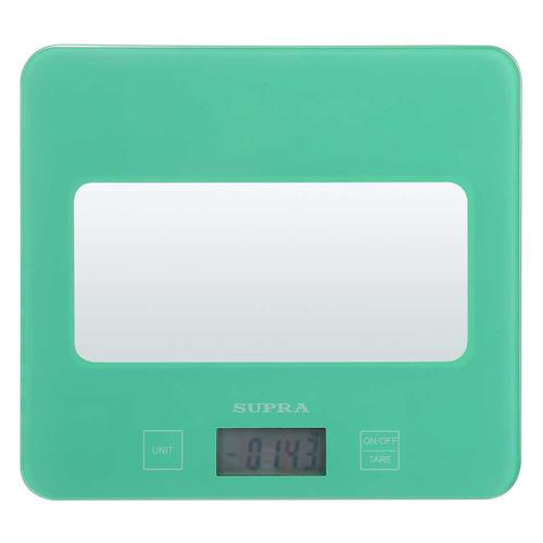 Весы кухонные SUPRA BSS-4201N, зеленый