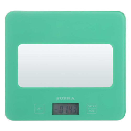 Весы кухонные SUPRA BSS-4201N, зеленый цена и фото