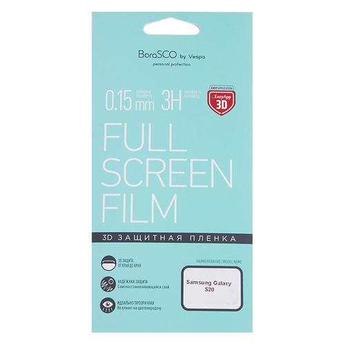 Защитная пленка для экрана BORASCO для Samsung Galaxy S20, антиблик, 3D, 1 шт [38543] цена 2017