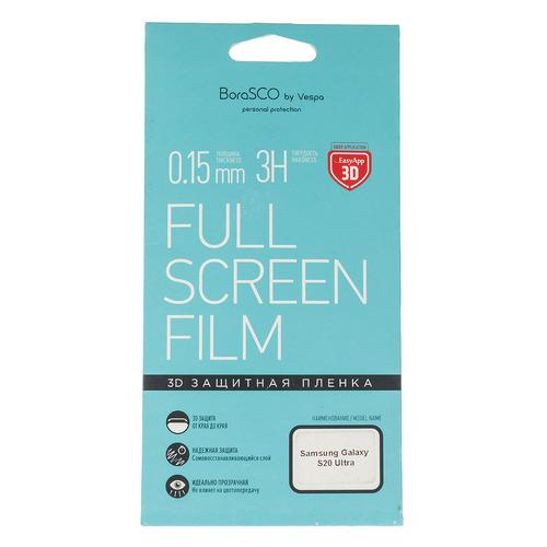 Защитная пленка для экрана BORASCO для Samsung Galaxy S20 Ultra, антиблик, 3D, 1 шт [38557] цена 2017