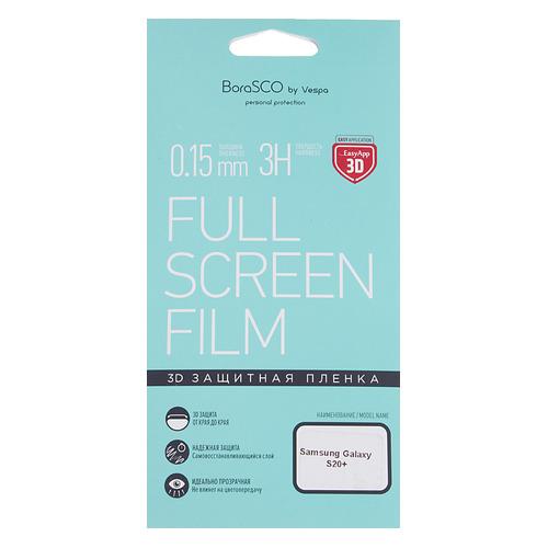 Защитная пленка для экрана BORASCO для Samsung Galaxy S20+, антиблик, 3D, 1 шт [38556] цена 2017