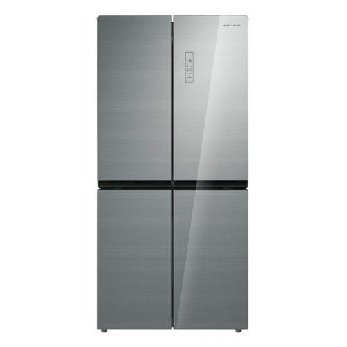 Холодильник DAEWOO RMM700SG, трехкамерный, серебристый холодильник daewoo fr 132aix серебристый