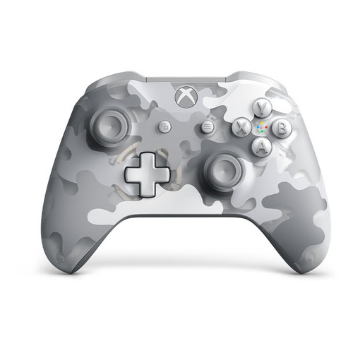 Геймпад Беспроводной MICROSOFT Arctic Camo, для Xbox One, камуфляж [wl3-00175] геймпад microsoft xbox one wireless controller gray green wl3 00061