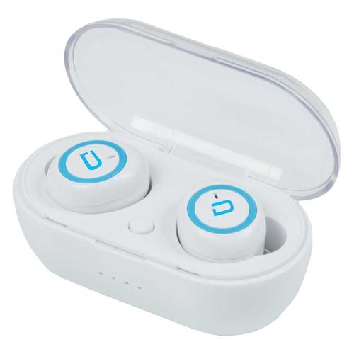 Наушники с микрофоном DENN TWS007, Bluetooth, вкладыши, белый