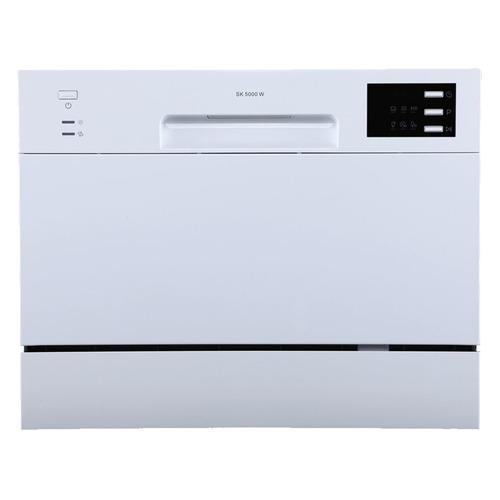 Посудомоечная машина MIDEA MCFD55320W, компактная, белая посудомоечная машина hyundai dt205 компактная белая