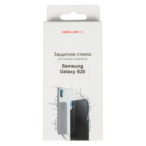 Фото - Защитное стекло для камеры REDLINE для Samsung Galaxy S20, 1 шт [ут000020419] защитное стекло