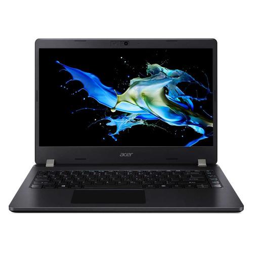 """Ноутбук ACER TravelMate P2 TMP214-52-372L, 14"""", Intel Core i3 10110U 2.1ГГц, 8Гб, 256Гб SSD, Intel UHD Graphics , Windows 10 Professional, NX.VLHER.00N, черный"""