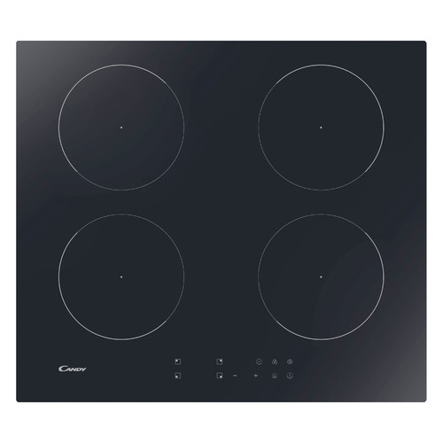 Индукционная варочная панель CANDY CJ2D46TKT, индукционная, независимая, черный цена и фото