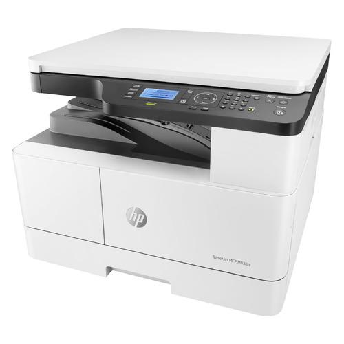 МФУ лазерный HP LaserJet Pro M438n, A3, лазерный, белый [8af43a]