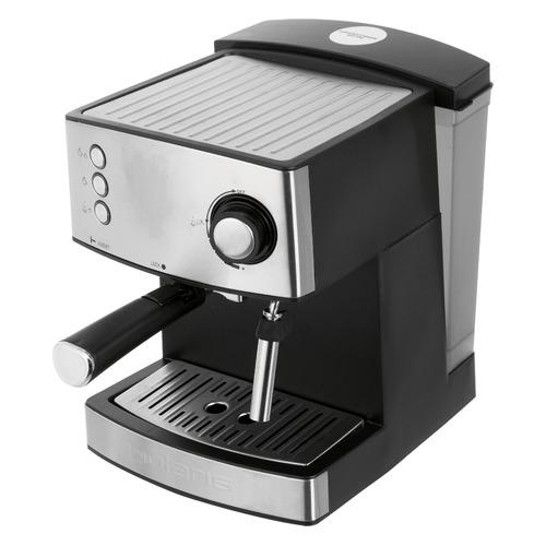 Кофеварка POLARIS PCM 1537AE Adore Crema, эспрессо, нержавеющая сталь / черный