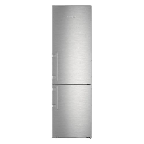 Фото - Холодильник Liebherr CNef 4835, двухкамерный, серебристый холодильник liebherr cnbs 4835 двухкамерный черная сталь