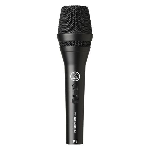 Микрофон AKG P3 S, черный [3100h00140]