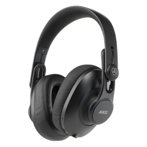 Наушники с микрофоном AKG K361BT, 3.5 мм/Bluetooth, накладные, черный