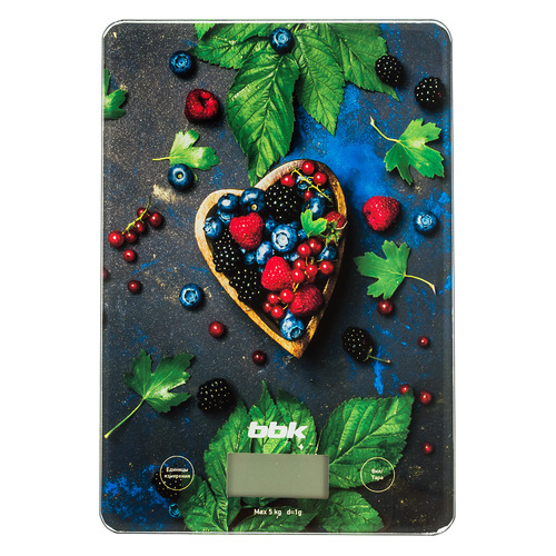 Весы кухонные BBK KS101G, рисунок кухонные весы bbk ks102g blue