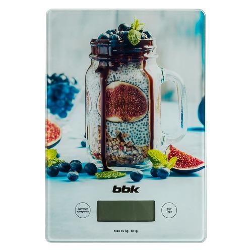 Весы кухонные BBK KS102G, рисунок кухонные весы bbk ks102g blue