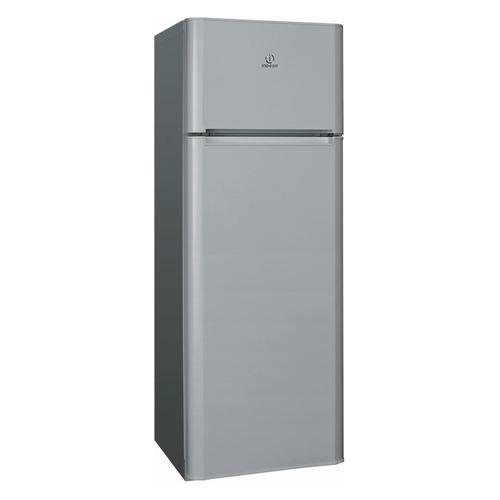 Холодильник INDESIT RTM 16 S, двухкамерный, серебристый [159551] холодильник с морозильной камерой indesit bia 201
