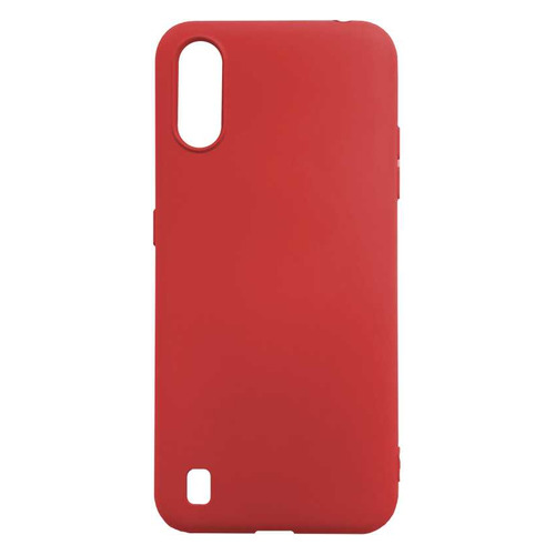 Чехол (клип-кейс) GRESSO Smart Slim, для Samsung Galaxy A01, красный [gr17sms201]