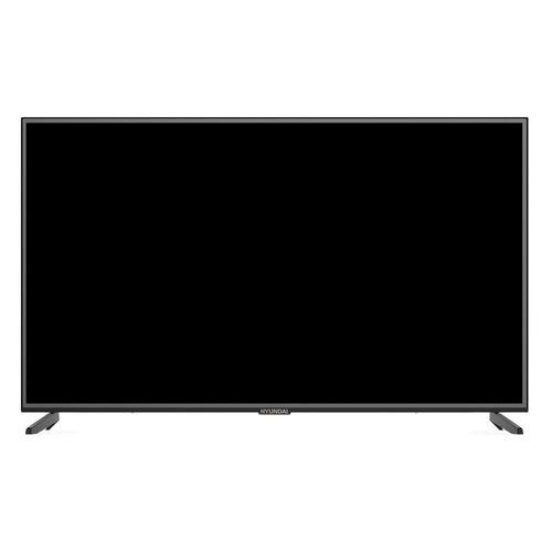Фото - LED телевизор HYUNDAI H-LED55EU1301 Яндекс Ultra HD 4K полотно для ленточной пилы зубр зпл 750 305 l 2234мм h 10 0мм шаг зуба 2мм 12tpi материал углерод сталь 65г