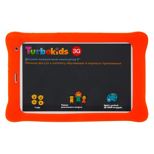 Планшет TURBO TurboKids 3G, 1GB, 16GB, 3G, Android 8.1 зеленый [рт00020523] смартфон nokia 5 1 plus белый 5 8 32 гб lte wi fi gps 3g bluetooth 11pdaw01a01