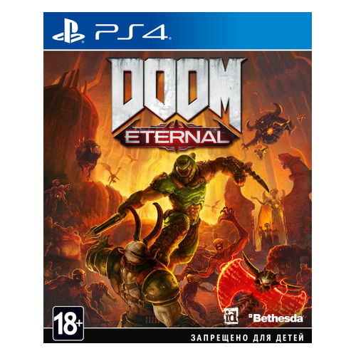 Игра PLAYSTATION DOOM Eternal, русская версия