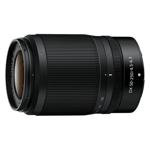 Объектив NIKON 50-250mm f/4.5-6.3 Nikkor Z DX, Nikon Z, черный [jma707da]