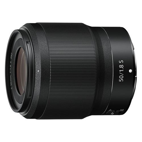 Фото - Объектив NIKON 50mm f/1.8 NIKKOR Z, Nikon Z, черный [jma001da] объектив nikon 35mm f 1 8 nikkor z nikon z черный [jma102da]