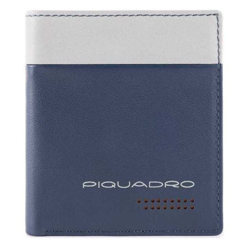 Чехол для кредитных карт Piquadro Urban PP1518UB00R/BLGR синий/серый натур.кожа чехол для кредитных карт piquadro pulse pu1243p15s blu2 синий натур кожа