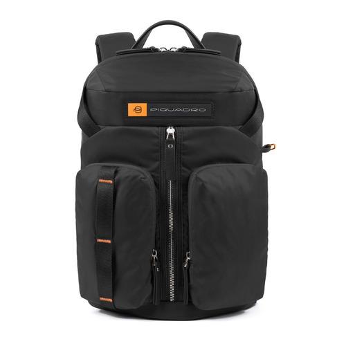Рюкзак унисекс Piquadro Bios CA5038BIO/N черный нейлон рюкзак унисекс piquadro pulse ca3869p15 n черный натур кожа