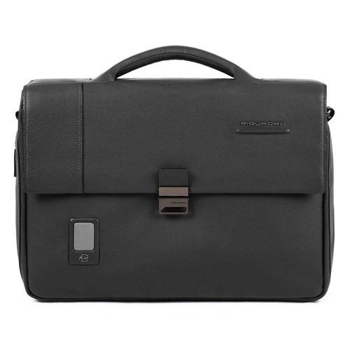 Портфель Piquadro Acron CA3111AO/N черный натур.кожа/нейлон кожаный портфель piquadro pulse ca3111p15 ca3111p15 n