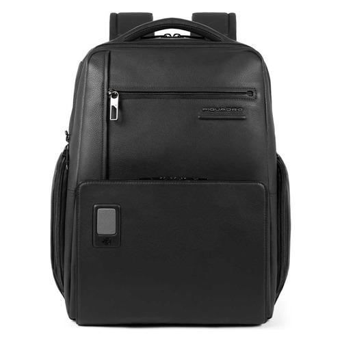 Рюкзак мужской Piquadro Acron CA5104AO/N черный натур.кожа рюкзак для ноутбука 15 6 thule lithos backpack tlbp 116 синий