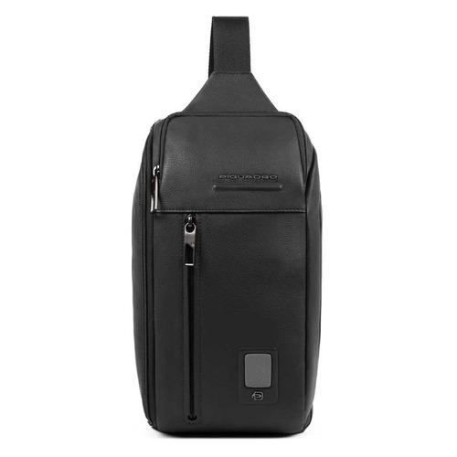 Рюкзак унисекс Piquadro Acron CA5107AO/N черный натур.кожа рюкзак унисекс piquadro pulse ca3869p15 n черный натур кожа