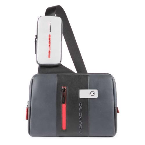 Рюкзак унисекс Piquadro Urban CA4974UB00/GRN серый/черный натур.кожа рюкзак унисекс piquadro pulse ca3869p15 n черный натур кожа