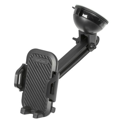 Держатель LuxCase черный для для смартфонов и навигаторов (98807)