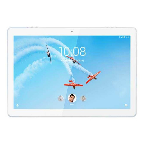 Планшет LENOVO Tab M10 TB-X505F, 2GB, 16GB, Android 9.0 белый [za4g0070ru]