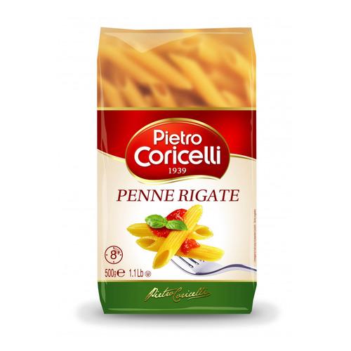 Макароны PIETRO CORICELLI Penne Rigate, перья, 500гр блуза pietro filipi pietro filipi pi028ewcpix9
