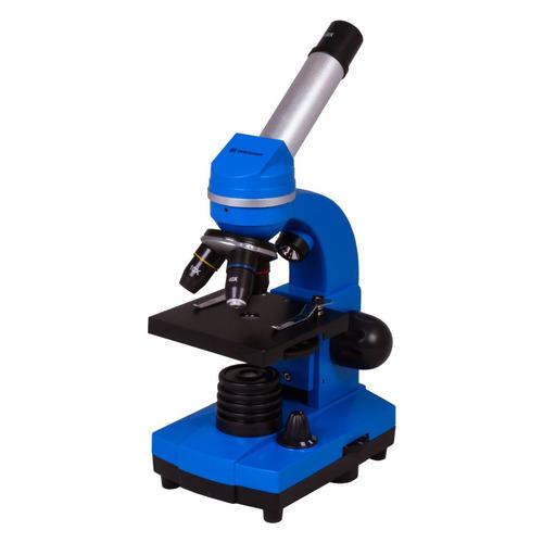 Микроскоп Bresser Junior Biolux SEL монокуляр 401600x на 3 объектива синий