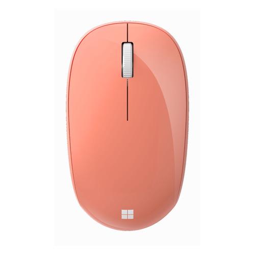 Мышь MICROSOFT Bluetooth, оптическая, беспроводная, персиковый [rjn-00046] мышь microsoft bluetooth черный оптическая 1000dpi беспроводная bt 2but