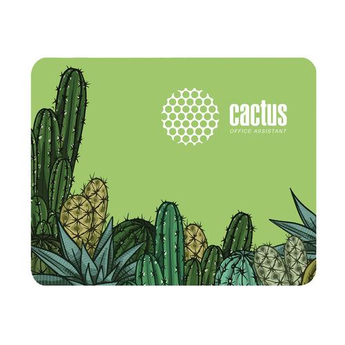 Коврик для мыши CACTUS CS-MP-C02S, Small, зеленый
