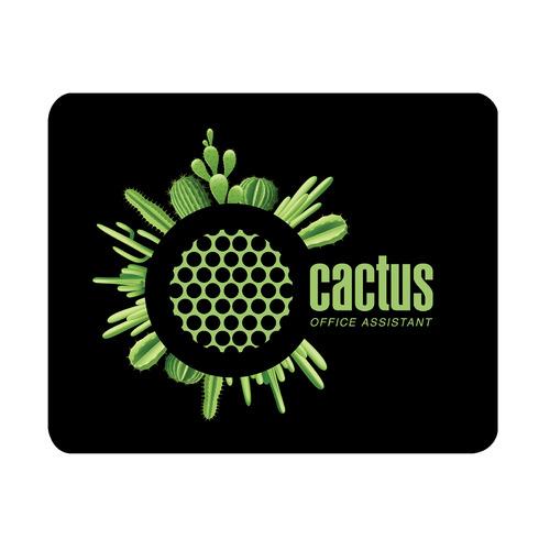 Коврик для мыши CACTUS CS-MP-D03S, Small, черный