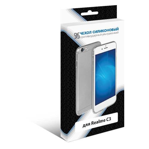 Чехол (клип-кейс) DF rmCase-02, для Realme C3, прозрачный moshiqisuoni c3 сотовый телефон дела небольшой зеленый сердце s55t оболочки sonyc3 силиконовый защитный чехол