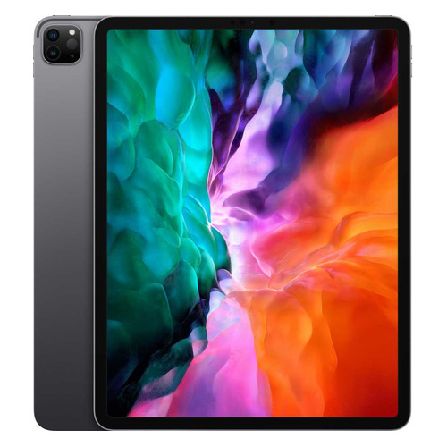 Планшет APPLE iPad Pro 2020 12.9 256Gb Wi-Fi + Cellular MXF52RU/A, 256ГБ, 3G, 4G, iOS темно-серый смартфон nokia 2 4 ds ta 1270 серый 6 5 32 гб wi fi bluetooth 3g 4g gps