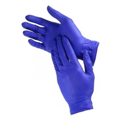 Перчатки одноразовые, размер: M, латекс, 50шт [115611]