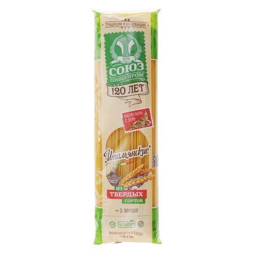 Макароны СОЮЗПИЩЕПРОМ Итальянские, спагетти, 500гр 24 шт./кор. паста спагетти с перцем чили из твёрдых сортов пшеницы италия deluca 500 г