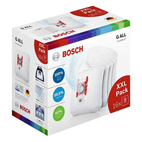 Пылесборники BOSCH BBZ16GALL, 16 шт., для пылесосов BOSCH мешки для пылесоса bosch bbz16gall 16шт для g all