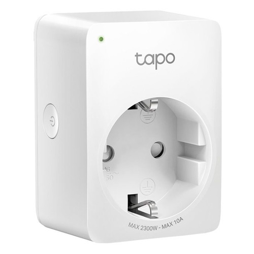 Умная розетка TP-Link Tapo P100(1-pack) EU VDEBT Wi-Fi белый камера видеонаблюдения tp link tapo c200 1080p 4 мм белый