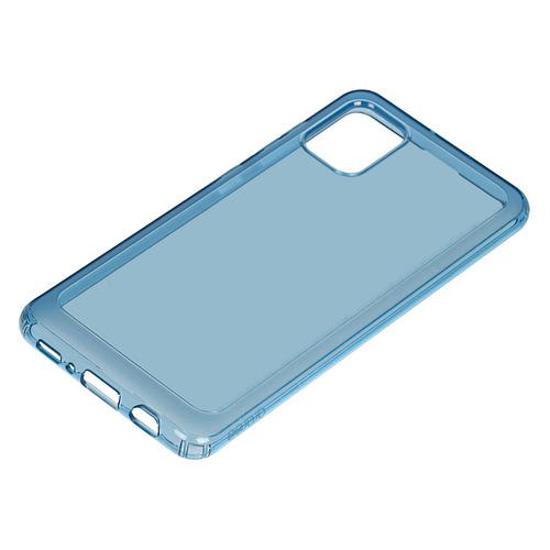 Чехол (клип-кейс) SAMSUNG araree A cover, для Samsung Galaxy A31, синий [gp-fpa315kdalr] чехол накладка для samsung galaxy a6 2018 samsung dual layer cover gold клип кейс полиуретан поликарбонат