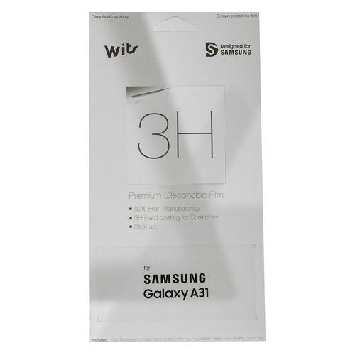 Защитная пленка для экрана SAMSUNG Wits для Samsung Galaxy A31, прозрачная, 1 шт [gp-tfa315wsatr] цена 2017