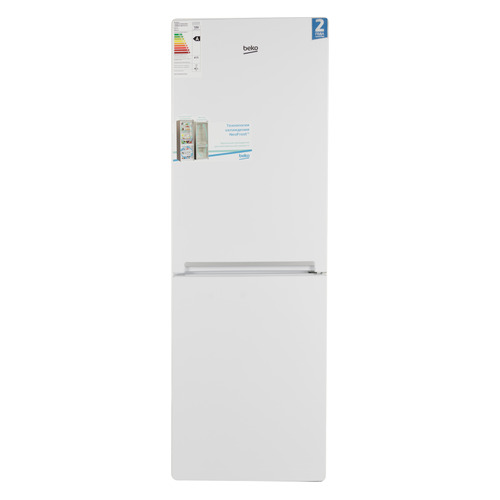 Холодильник BEKO RCNK296K20W, двухкамерный, белый